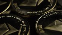 Roterande skott av Bitcoins (Digital Cryptocurrency) - BITCOIN ETHEREUM 119