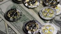 Disparo giratorio de Bitcoins (criptomoneda digital) - BITCOIN RIPPLE 0236