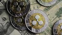 Plan tournant de Bitcoins (crypto-monnaie numérique) - BITCOIN RIPPLE 0223