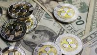 Plan tournant de Bitcoins (crypto-monnaie numérique) - BITCOIN RIPPLE 0234