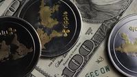 Plan tournant de Bitcoins (crypto-monnaie numérique) - BITCOIN RIPPLE 0263