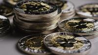 Disparo giratorio de Bitcoins (criptomoneda digital) - BITCOIN RIPPLE 0076