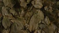 Plan tournant de l'orge et d'autres ingrédients brassicoles - Bière Brewing 293