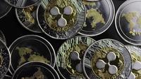 Disparo giratorio de Bitcoins (criptomoneda digital) - BITCOIN RIPPLE 0179