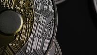 Disparo giratorio de Bitcoins (criptomoneda digital) - BITCOIN RIPPLE 0109