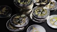 Plan tournant de Bitcoins (crypto-monnaie numérique) - BITCOIN RIPPLE 0205