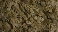 Roterend schot van gerst en andere ingrediënten voor het brouwen van bier - BIERENWORTELEN 290