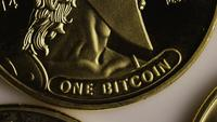 Tiro giratorio de Titan Bitcoins (criptomoneda digital) - BITCOIN TITAN 053