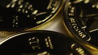 Disparo giratorio de Titan Bitcoins (criptomoneda digital) - BITCOIN TITAN 028
