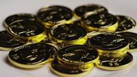 Disparo giratorio de Titan Bitcoins (criptomoneda digital) - BITCOIN TITAN 106