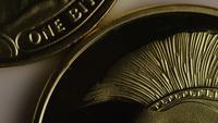 Disparo giratorio de Titan Bitcoins (criptomoneda digital) - BITCOIN TITAN 015