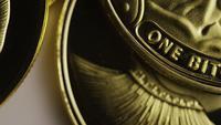 Disparo giratorio de Titan Bitcoins (criptomoneda digital) - BITCOIN TITAN 091