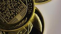 Tiro giratorio de Titan Bitcoins (criptomoneda digital) - BITCOIN TITAN 125