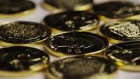 Disparo giratorio de Titan Bitcoins (criptomoneda digital) - BITCOIN TITAN 071