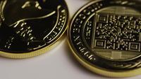 Tiro giratorio de Titan Bitcoins (criptomoneda digital) - BITCOIN TITAN 062