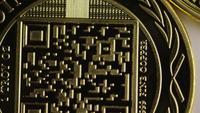 Tiro giratorio de Titan Bitcoins (criptomoneda digital) - BITCOIN TITAN 050