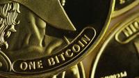 Tiro giratorio de Titan Bitcoins (criptomoneda digital) - BITCOIN TITAN 130