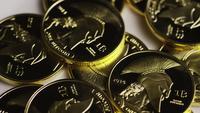 Tiro giratorio de Titan Bitcoins (criptomoneda digital) - BITCOIN TITAN 101