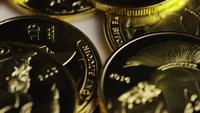 Tiro giratorio de Titan Bitcoins (criptomoneda digital) - BITCOIN TITAN 102