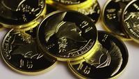 Tiro giratorio de Titan Bitcoins (criptomoneda digital) - BITCOIN TITAN 099