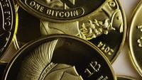 Tiro giratorio de Titan Bitcoins (criptomoneda digital) - BITCOIN TITAN 088
