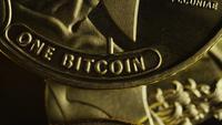 Roterande skott av Titan Bitcoins (Digital Cryptocurrency) - BITCOIN TITAN 093