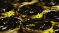Rotationsskott av Titan Bitcoins (Digital Cryptocurrency) - BITCOIN TITAN 110