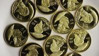 Roterande skott av Titan Bitcoins (Digital Cryptocurrency) - BITCOIN TITAN 002