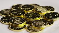 Roterande skott av Titan Bitcoins (Digital Cryptocurrency) - BITCOIN TITAN 146