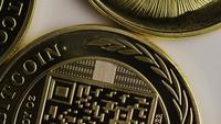 Rotationsskott av Titan Bitcoins (Digital Cryptocurrency) - BITCOIN TITAN 049
