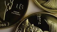 Roterande skott av Titan Bitcoins (Digital Cryptocurrency) - BITCOIN TITAN 012