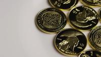 Rotationsskott av Titan Bitcoins (Digital Cryptocurrency) - BITCOIN TITAN 057