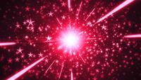 Fiesta festiva estrellas fondo bucle