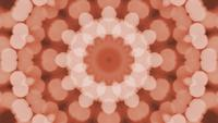 Kaleidoscope Bokeh Orange