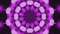 kaleidoscope bokeh violett
