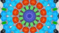 Kaleidoskop-Murmeln