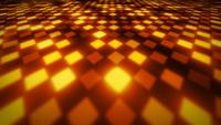 Abstract 3d Glowing Patterns Mosaic Background