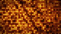 Abstract Glowing Patterns Mosaic Background