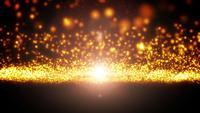 Laço de fluxo de partículas leves abstratas