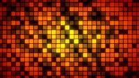 Resumen de patrones que brillan intensamente fondo de mosaico