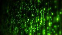 Computer-Binärcode-Daten-Fallende Schleife
