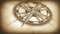 Kompass Rose Animation Background Loop
