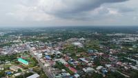 Vue aérienne de la Thaïlande.