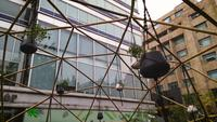 Pan Clip Of Eco Friendly Bamboo Installation
