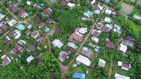 Luftbild Landschaft von Thailand.