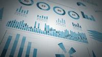 Statistiques sur les entreprises, données de marché et infographie Layout Pack