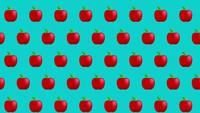Fundo de maçã