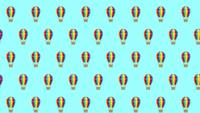 Hot Air Balloon Background