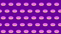 Donut bakgrund