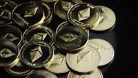 Plan tournant de Bitcoins (crypto-monnaie numérique) - BITCOIN ETHEREUM 142